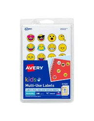 Avery Kids Multiuse Emoji Labels