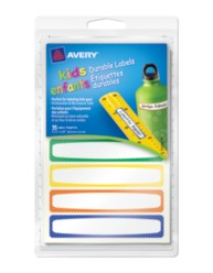Avery® Durable Labels for Kids' Gear 41427, Packaging Image