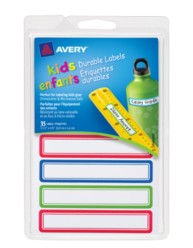 Avery® Durable Labels for Kids' Gear 41428, Packaging Image