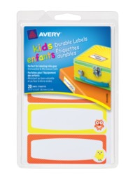 Avery® Durable Labels for Kids' Gear 41429, Packaging Image
