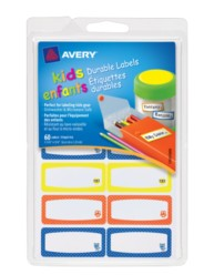 Avery® Durable Labels for Kids' Gear 41430, Packaging Image