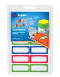 Avery® Durable Labels for Kids' Gear 41432, Packaging Image