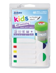 Avery® Kids Self-Laminating Labels 41433, Packaging Image
