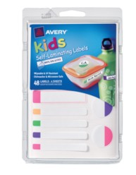 Avery® Self-Laminating Labels for Kids' Gear 41434, Packaging Image