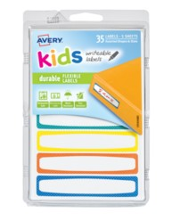 Avery® Durable Labels for Kids' Gear 41439, Packaging Image