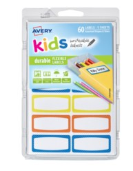 Avery® Durable Labels for Kids' Gear 41442, Packaging Image