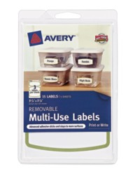 Avery® Removable Multi-Use Labels 41448, Packaging Image