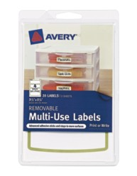 Avery® Removable Multi-Use Labels 41449,  Packaging Image