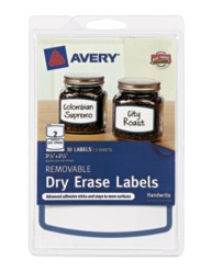 Avery® Removable Dry Erase Labels 41450,  Packaging Image