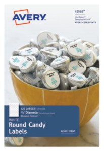 Round Candy Labels