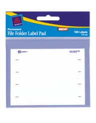 Avery File Folder Label Pad 45203 Packaging Image