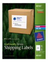 Avery® EcoFriendly Shipping Labels 48165, Packaging Image