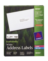Avery EcoFriendly Address Labels 48460 Packaging Image