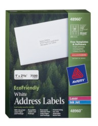 Avery EcoFriendly Address Labels 48960 Packaging Image