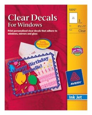 Clear Decals For Windows 53212