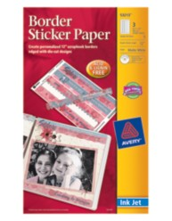 Avery Border Sticker Paper 53213 Packaging Image