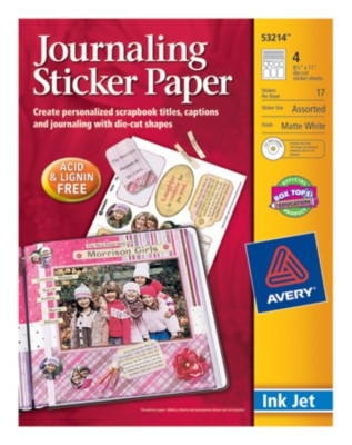 Journaling Sticker Paper 53214
