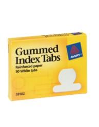 Index Tabs, Gummed Paper