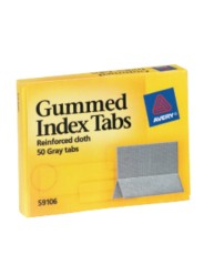 Index Tabs, Gummed Cloth