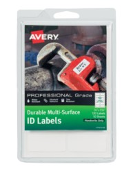 Avery® Durable Multi-Surface ID Labels, 61521, packaging