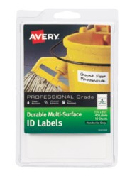 Avery® Durable Multi-Surface ID Labels, 61522, packaging