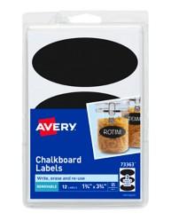 Avery Oval Chalkboard Labels 73363