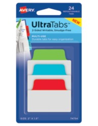 Avery® Multiuse UltraTabs™ 74757, Packaging Image