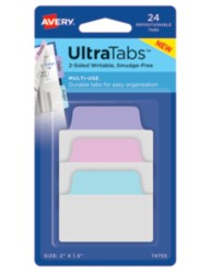 Avery Multiuse UltraTabs 74755, Packaging Image