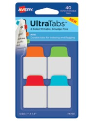 Avery® Mini UltraTabs™ 74760, Packaging Image