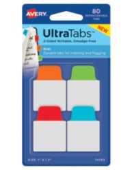 Avery® Mini UltraTabs™ 74763, Packaging Image