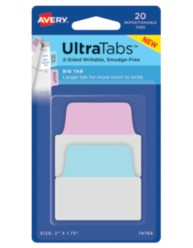 Avery® Big Tab UltraTabs™ 74766, Packaging Image