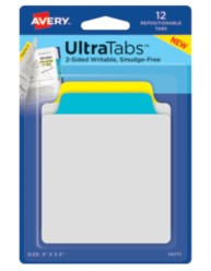 Avery® Tab & Note UltraTabs™ 74771, Packaging Image