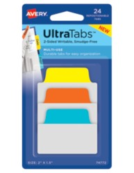Avery Multiuse UltraTabs™ 74772, Packaging Image