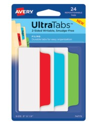 Avery Filing Ultra Tabs 74775