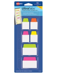 Avery Ultra Tabs Refillable Clip & Go Carrier 74779