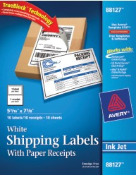 Avery Shipping Labels 88127 Packaging Image