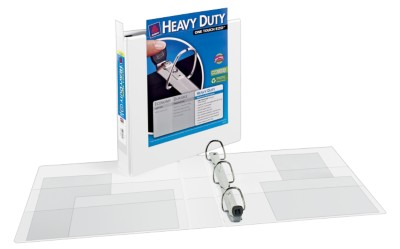 Extra Wide Heavy Duty View Binder 1319