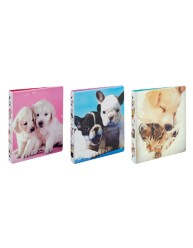 """Avery® Friends Fashion Binder with 1"""" Round Rings 03240, Application Image"""