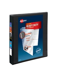 Avery Heavy-Duty Nonstick View Binder with 1&quot Slant Rings 05300, Application Image
