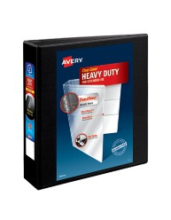 "Avery® Heavy-Duty Nonstick View Binder with 2"" One Touch Slant Rings 05500, Packaging Image"