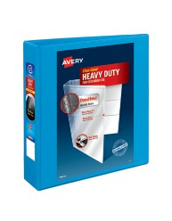 "Avery® Heavy-Duty Nonstick View Binder with 2"" One Touch Slant Rings 05501, Application Image"