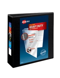 "Avery® Heavy-Duty Nonstick View Binder with 3"" One Touch Slant Rings 5600, Packaging Image"