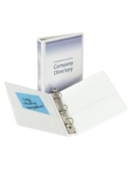 "Economy Reference 5-1/2"" x 8-1/2"" View Binders"