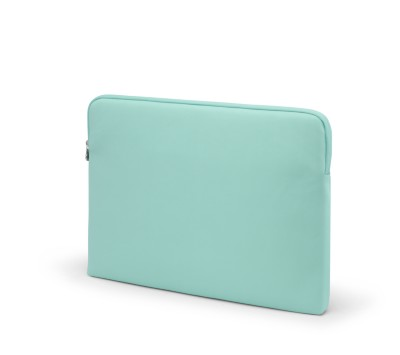 "MSHO Laptop Sleeve, 100% PVC, Horizontal Rectangle, 16""x11.5""x1"", Blue Textured 6413"