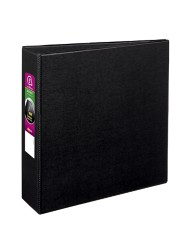 "Avery® Durable Binder with 3"" Two Booster EZD™ Rings 07701, Packaging Image"