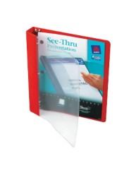 See-Thru Presentation Binders