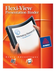 "Avery®; Flexi-View™ 1/2"" Binder 15767, Packaging Image"