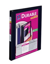 "Avery® Durable View Binder with 1/2"" Slant Rings 17001, Packaging Image"