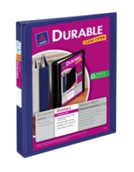 "Avery® Durable View Binder with 1"" Slant Rings 17014, Packaging Image"
