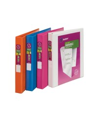 "Avery® Durable View Binder with 1""  Rings 17018, Packaging Image"